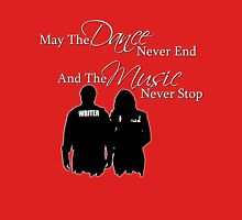 May the Dance Never End Womens Fitted T-Shirt