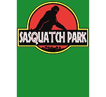 Sasquatch Park Bigfoot Parody T Shirt Photographic Print