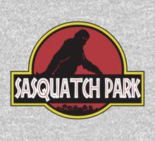 Sasquatch Park Bigfoot Parody T Shirt Kids Tee