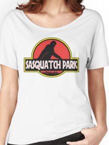Sasquatch Park Bigfoot Parody T Shirt Women's Relaxed Fit T-Shirt