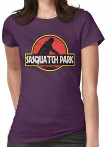 Sasquatch Park Bigfoot Parody T Shirt Womens Fitted T-Shirt