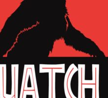 Sasquatch Park Bigfoot Parody T Shirt Sticker