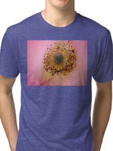 Poppy Pollen Dust Tri-blend T-Shirt