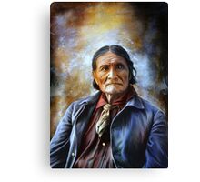 Geronimo Canvas Print