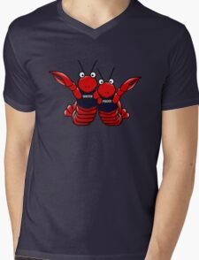 She's his lobster Mens V-Neck T-Shirt