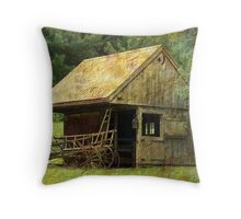 The Moon and a Star Throw Pillow