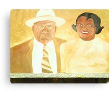 MY PARENTS Canvas Print