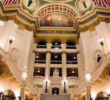 Pennsylvania State Capitol by Mark Van Scyoc