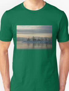 Pale, Still Morning on Lake Ontario Unisex T-Shirt
