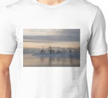 Pale, Still Morning on Lake Ontario Unisex T-Shirt