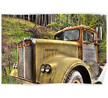 old KW near Ashland Or. Poster