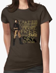 Take My Love Womens Fitted T-Shirt