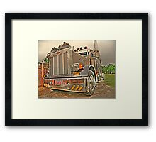 2004  Peterbilt 379 Framed Print