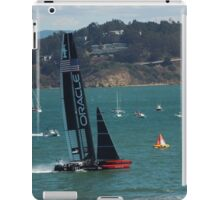"""USA Wins the America's Cup"" iPad Case/Skin"