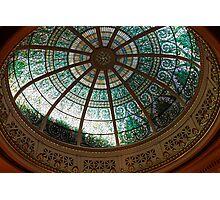 Pennsylvania Supreme Court Chamber Dome Photographic Print