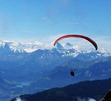 Pilatus paragliding by xtie