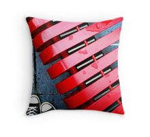 waiting on you to come back... Throw Pillow
