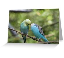 Caught them kissing again Greeting Card
