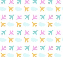 Planes Pattern by KingdomofArt