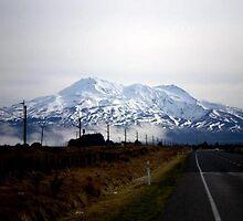 Mt. Ruapehu by Elizabeth Rose Rawlings