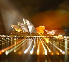 Vivid 2010 - Sydney Opera House by Dean Perkins