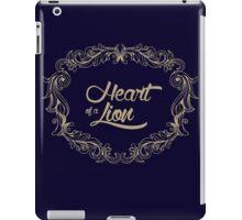Heart Of A Lion iPad Case/Skin