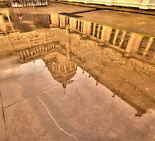 Heritage and Raindrops - Royal Exhibition Building ,Melbourne - The HDR Experience by Philip Johnson