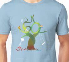 T-Shirt 50/85 (Social Security) by Benjamin Chen Unisex T-Shirt