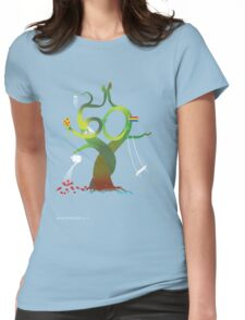 T-Shirt 50/85 (Social Security) by Benjamin Chen Womens Fitted T-Shirt