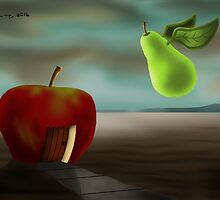 SURREALISM - Fruit Friends by surreal77