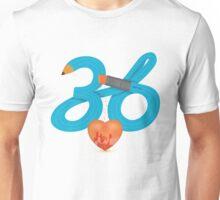 T-Shirt 36/85 (Workplace) by Irene Teng Unisex T-Shirt