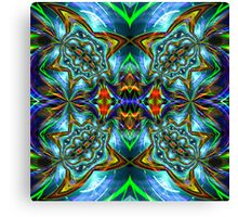 Render With A Twist Canvas Print