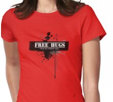 Free hugs - Terms and Conditions Apply Womens Fitted T-Shirt