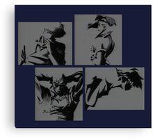 Cowboy Bebop Characters Canvas Print