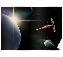 On Solar Winds Poster