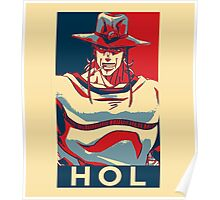 I Stand With Hol Horse Poster