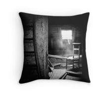 Church attic. Throw Pillow