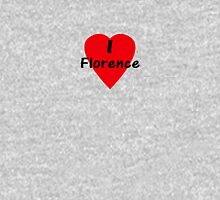I Love Florence - I Heart Firenze T-Shirt Women's Fitted Scoop T-Shirt