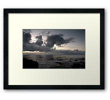 Morgan's Lair Framed Print