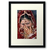 Bride-I Framed Print