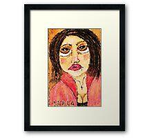Bowser Lady Framed Print