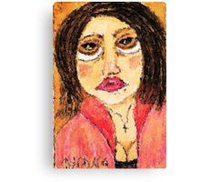 Bowser Lady Canvas Print