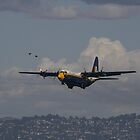 Fat Albert inbound over the Bay by fototaker