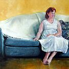 Portrait of Tanya by Pieter  Zaadstra