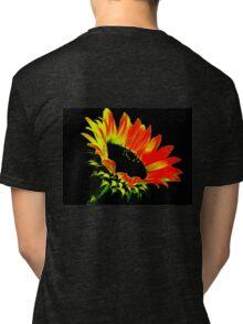 Red Sunflower Tri-blend T-Shirt