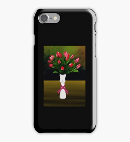 SURREALISM - A Lady's Cancer iPhone Case/Skin