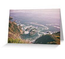 California waves Greeting Card