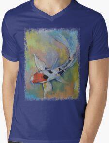 Maruten Butterfly Koi Mens V-Neck T-Shirt