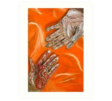 The Design of Marriage Art Print