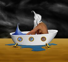 SURREALISM - Day Dreaming Bath by surreal77